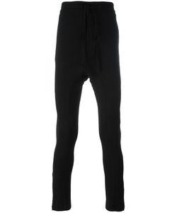 CEDRIC JACQUEMYN | Dropcrotch U-Leg Joggers 48 Cotton/Wool/Rayon