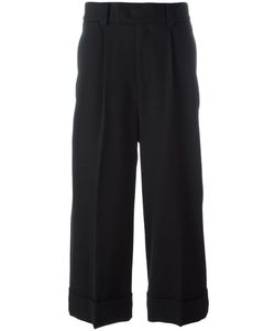 SYSTEM HOMME | Loose Fit Trousers 46 Polyurethane/Wool