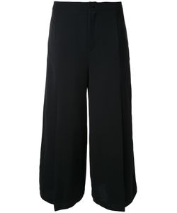 Max Tan | Flapped Cropped Trousers 38 Polyester