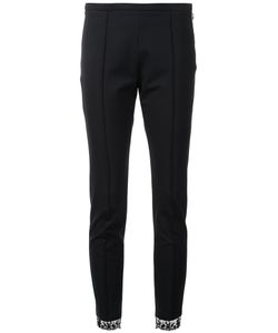 Sharon Wauchob | Lace Detail Skinny Trousers 38 Viscose/Spandex/Elastane