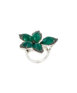 Stephen Webster | Agate And Diamond Flower Ring 54