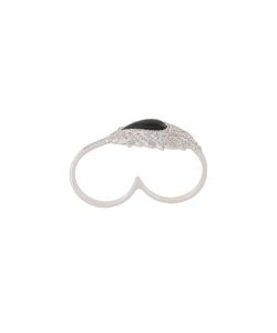 ELISE DRAY | Diamond Double Finger Ring 55