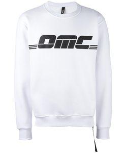 Omc | Logo Print Sweatshirt Large Cotton