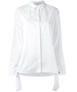 Tibi   Tie Cuff Shirt 6 Cotton