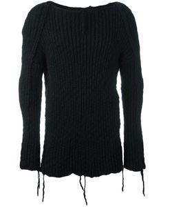 CEDRIC JACQUEMYN | Hand-Knitted Jumper 50 Virgin Wool