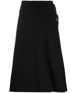 Carven | Flared Midi Skirt 36 Polyester/Acetate/Viscose