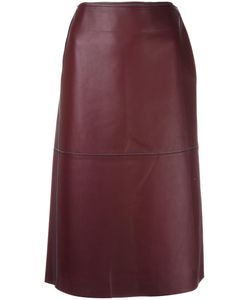 By Malene Birger | Applied Skirt 40 Lamb Skin