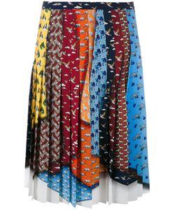 Mary Katrantzou | King Animal Tie Skirt 12 Polyester