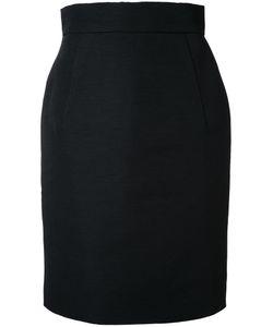 Gareth Pugh | Mid Pencil Skirt 44 Cotton/Acrylic