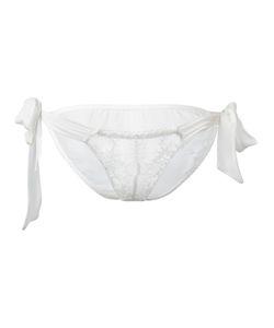 Gilda & Pearl | Goddess Tie-Side Knickers S/M Silk/Rayon/Nylon