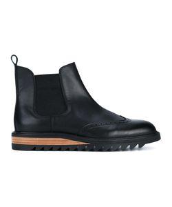 HENDER SCHEME | Brique Chelsea Boots 43 Leather
