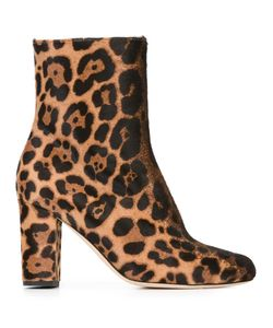 Brian Atwood | Talise Boots 38.5 Pony Fur/Leather