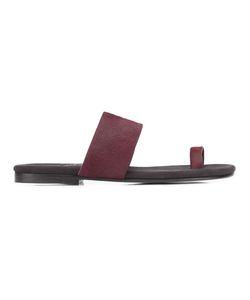 Newbark | Roma V Sandals 6 Pony Fur/Leather