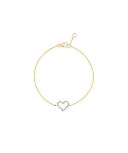 ROSA DE LA CRUZ | Micro Diamond Heart Bracelet