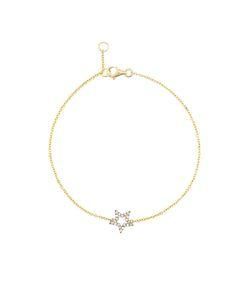 ROSA DE LA CRUZ | Diamond Star Charm Bracelet