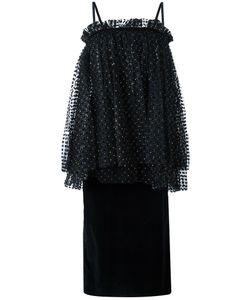 Isa Arfen | Gathered Dress 10 Cotton/Spandex/Elastane/Viscose/Polyester
