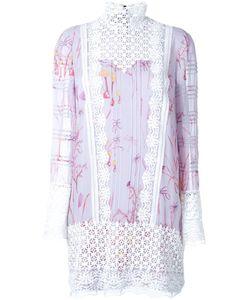 Giambattista Valli   Print Dress 42 Silk