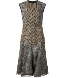 Sonia Rykiel | Flared Dress 38 Virgin Wool/Cotton/Polyester/Acrylic