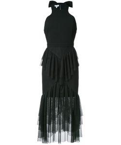 Rebecca Vallance   Orlando Ruffle Dress 6 Polyurethane