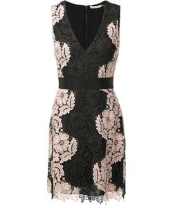 Alice + Olivia | Lace V-Neck Dress 2 Polyester