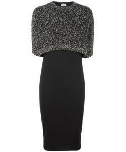Brunello Cucinelli | Cropped Layered Dress Xl Cashmere/Wool/Polyamide/Silk