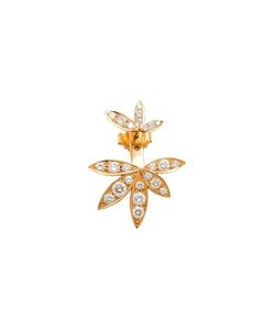 JAGGA | Diamond Lily Lobe Earring