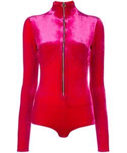 Emiliano Rinaldi | High Neck Zipped Bodysuit 38 Polyester/Spandex/Elastane/Viscose