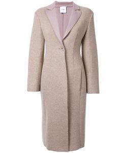 Agnona | Contrast Lapel Coat 38 Cashmere