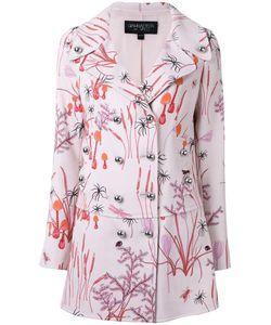 Giambattista Valli | Print Coat 42 Cotton/Nylon/Viscose