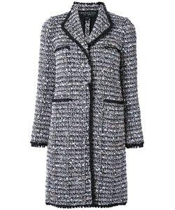 Giambattista Valli | Tweed Long Coat 40 Acrylic/Polyamide/Polyester/Virgin Wool