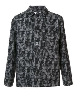Julien David | Patterned Shirt Jacket Medium Wool