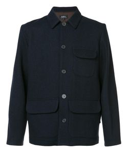 A.P.C. | Patch Pocket Jacket Large Viscose/Wool
