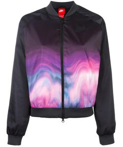 Nike | Printed Bomber Jacket Small Polyester/Cotton