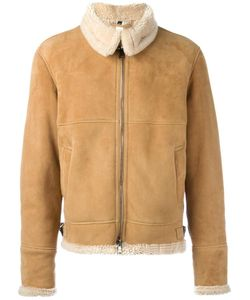 Giorgio Brato | Zipped Short Coat 46 Sheep Skin/Shearling