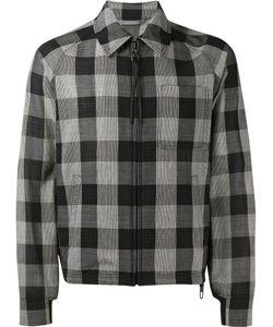 Lanvin | Check Coach Jacket 54 Virgin Wool/Cotton/Spandex/Elastane
