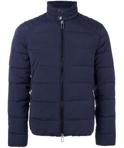 Paolo Pecora | Banded Collar Padded Jacket 52 Polyamide/Spandex/Elastane/Polyester