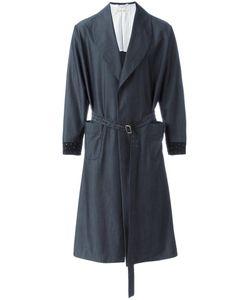 Emiliano Rinaldi | Belted Mid Coat 48 Wool/Viscose/Cupro