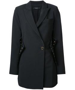 Ellery | Corset Detail Coat 6 Nylon/Spandex/Elastane/Wool