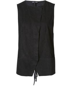 Ann Demeulemeester | Leather Waistcoat 38 Leather
