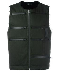 LETASCA | Zipper Detailing Gilet Xl Polyester