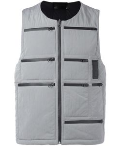LETASCA | Zipper Detailing Gilet Medium Polyester