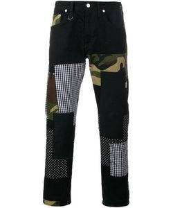 Sophnet. | Patch Repair Camouflage Jeans Small Cotton/Polyurethane