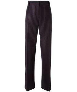 Cedric Charlier | Cédric Charlier Striped Trousers 36 Wool/Polyamide/Other Fibers