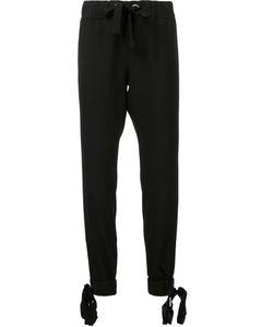 Zac Zac Posen   Azalea Track Pants 10 Acetate/Polyester