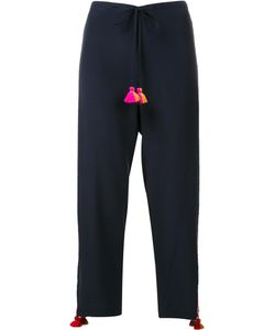 FIGUE | Goa Cropped Trousers Small Silk