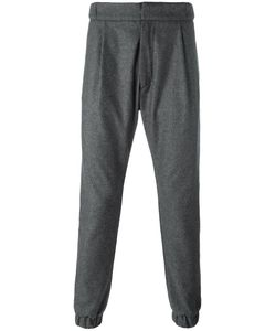LETASCA | Buttoned Track Pants Large Wool