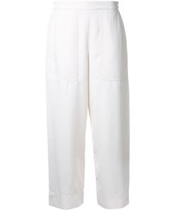 LEMAIRE | Cropped Trousers 36 Silk