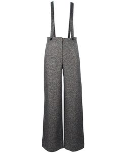 Roberto Collina | Suspended Flared Trousers Medium Linen/Flax/Alpaca/Silk/Nylon