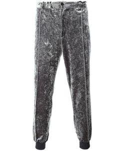 Emiliano Rinaldi | Elasticated Buttoned Track Pants 50 Viscose/Nylon/Cupro