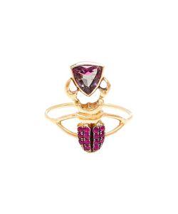 DANIELA VILLEGAS | Kephri 18k Sapphire And Tourmaline Ring